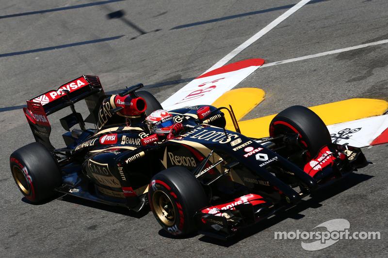 Monaco GP: Lotus' Grosjean into the points