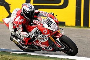 World Superbike Race report Superb double victory for Bimota Alstare at Donington Park