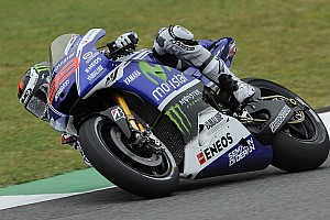 MotoGP Qualifying report Lorenzo secures front row for Mugello GP