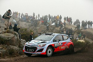 WRC Preview Hyundai Shell World Rally Team set for three-car assault on Rally Italia Sardegna