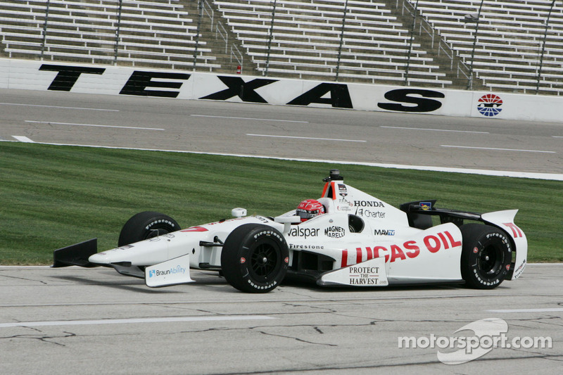Pagenaud, Aleshin to start 6th, 11th after bringing heat to Texas qualifying