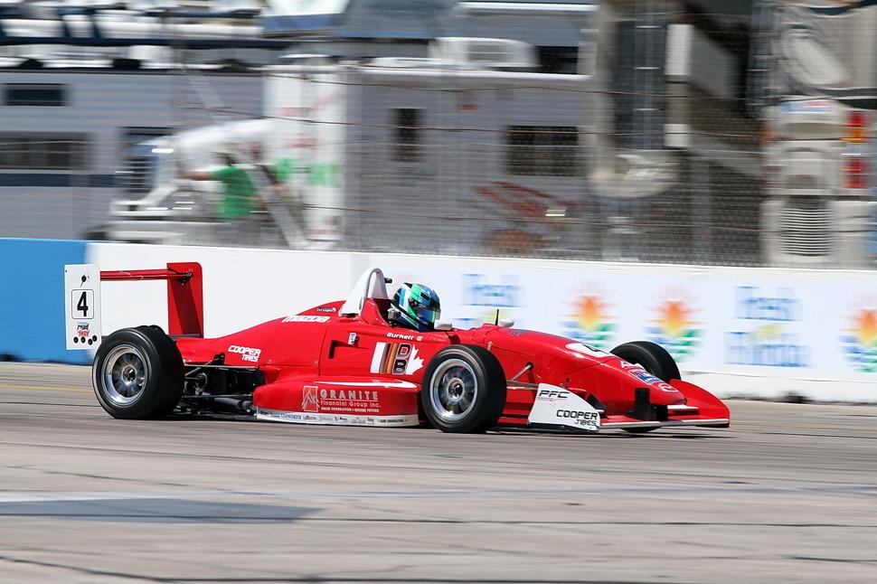 Atlantic Race report Burkett wins Atlantic race at VIR