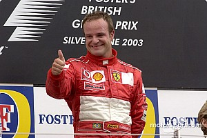 Rubens Barrichello to drive in Silverstone's 50th Grand Prix parades