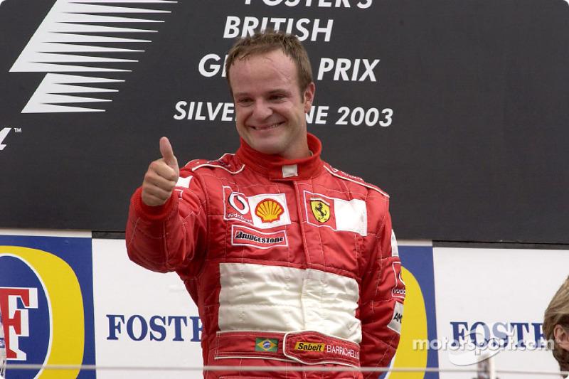Rubens Barrichello to drive in Silverstone's 50th Grand Prix parades