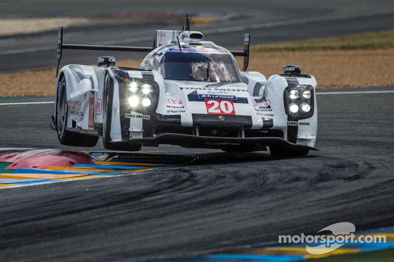 Porsche 919 Hybrid: Pre-evening thriller in Le Mans