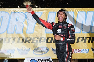 NASCAR Truck Race report Bubba shines in trucks return to Gateway