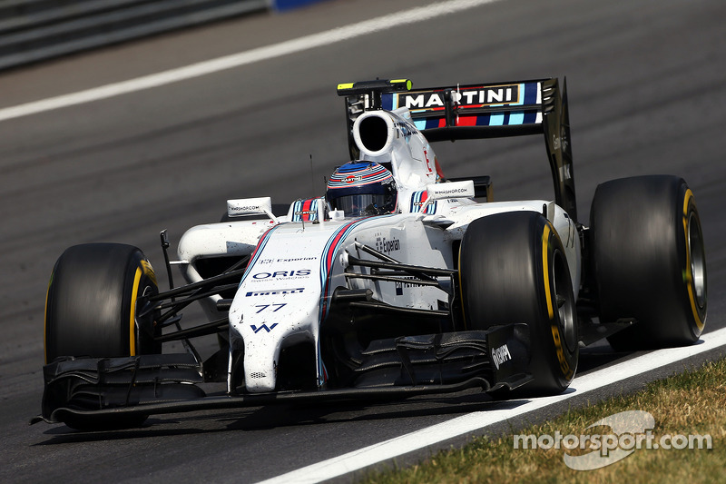 Williams' Bottas achieved his first ever Formula One podium in Austria