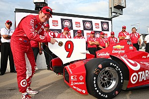 IndyCar Qualifying report Ganassi sweeps the front row at Iowa
