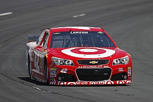 NASCAR Sprint Cup Commentary Larson seeks turnaround