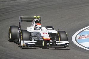GP2 Race report Rossi and Campos have strong GP2 Sprint Race in Hockenheim