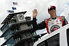 Kevin Harvick sets a new qualifying lap for the Brickyard 400