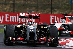 Maldonado finishes 13th in an unfortunate Hungarian GP for Grosjean