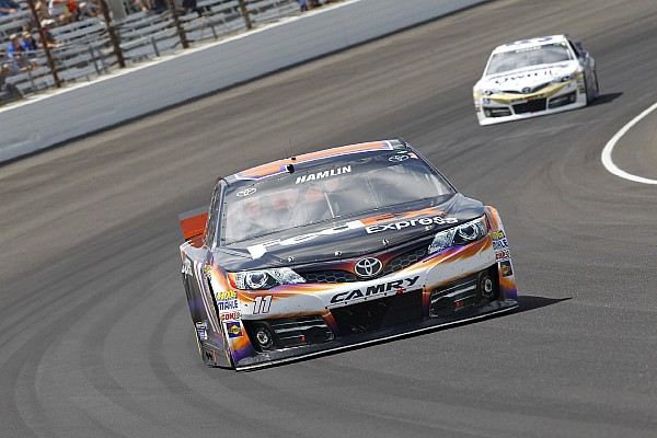 Hamlin remains confident despite crew chief being sidelined