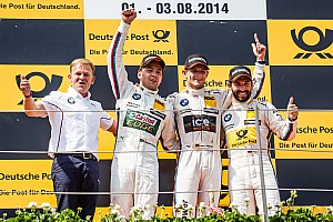 DTM Race report BMW claims top four positions for the first time in the DTM since 1992