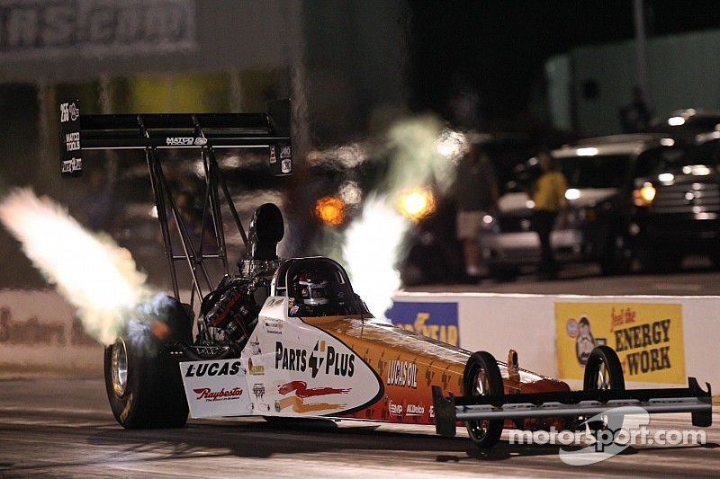 Clay Millican still thinking countdown leading into the NHRA Nationals at Brainerd