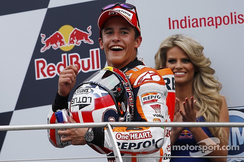 Bridgestone: Indianapolis victory makes it ten out of ten for Marquez in 2014