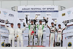 GT Race report GT Asia: Yu and Mucke play it perfectly for strong win at Sepang
