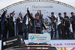 NASCAR XFINITY Race report Chris Buescher breaks through to score first Nationwide win