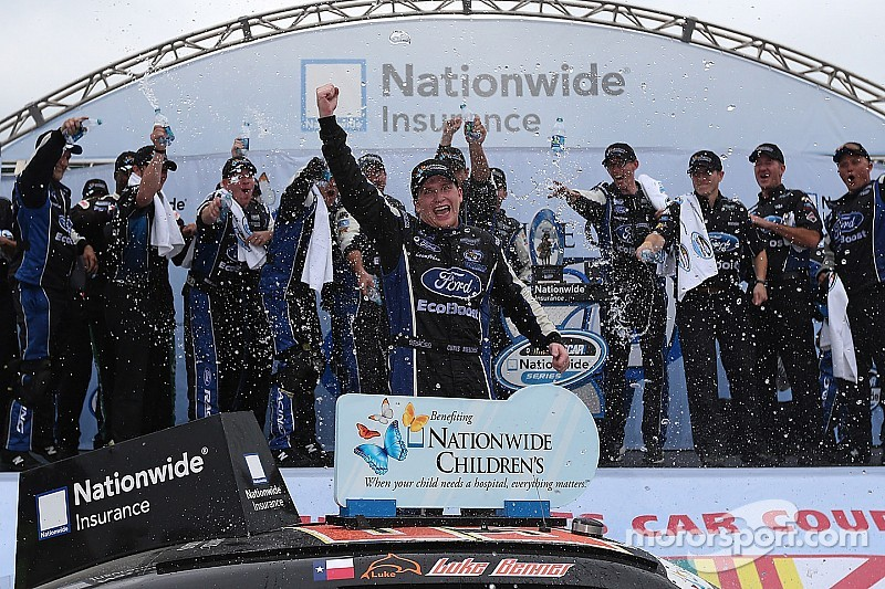 Chris Buescher breaks through to score first Nationwide win