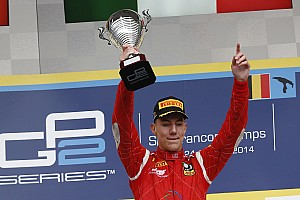 GP2 Race report Marciello takes first win in chaotic feature race