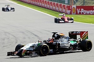 Formula 1 Race report Sahara Force India scored two points in today's Belgian GP