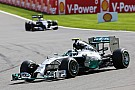 Mercedes' Rosberg took second place in today's Belgian GP