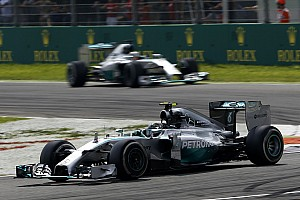 Formula 1 Breaking news 'Luck' helped Hamilton win in Monza - Rosberg