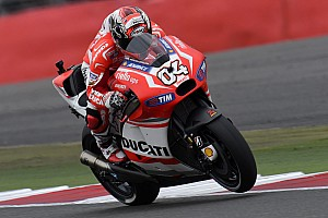 MotoGP Practice report Dovizioso heads wet Friday practice at Misano