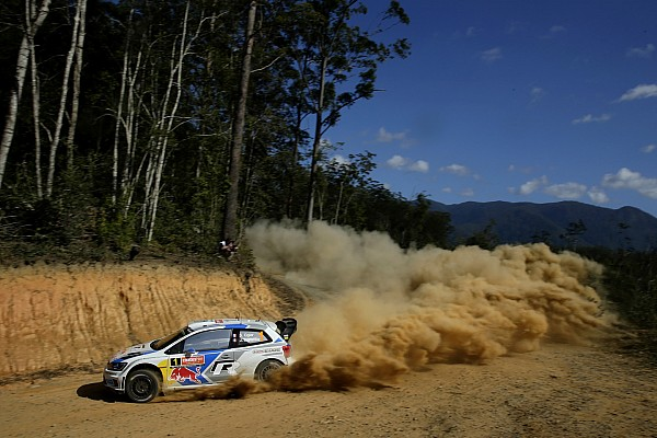 Ogier powers ahead in opening leg of Rally Australia