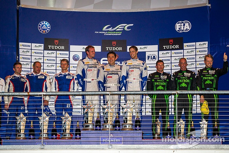 ESM finishes third in debut WEC race