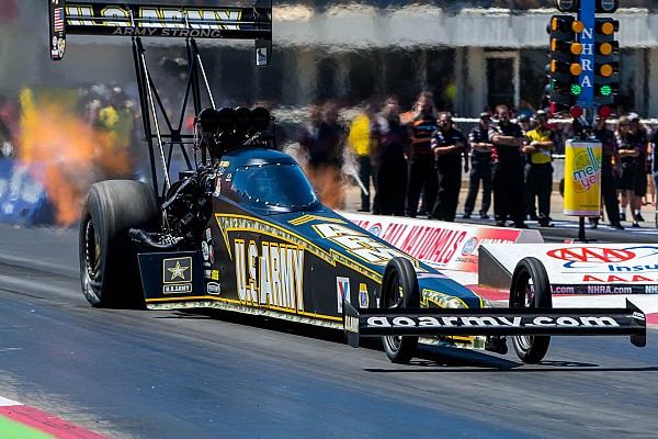 Tony Schumacher doubles up at NHRA in Texas