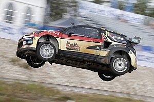 Kristoffersson leads Italy RX as Solberg hits trouble