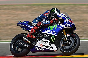 MotoGP Race report Bridgestone: Lorenzo excels in wet and dry conditions to take victory at Aragon