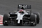 Magnussen and Button will line up 7th and 8th respectively for tomorrow's Japanese GP