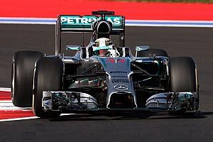 Russian GP practice 3 results: Hamilton fastest despite spin
