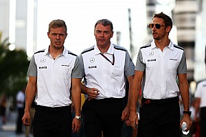 Formula 1 Breaking news Button worried about rookie Magnussen's future