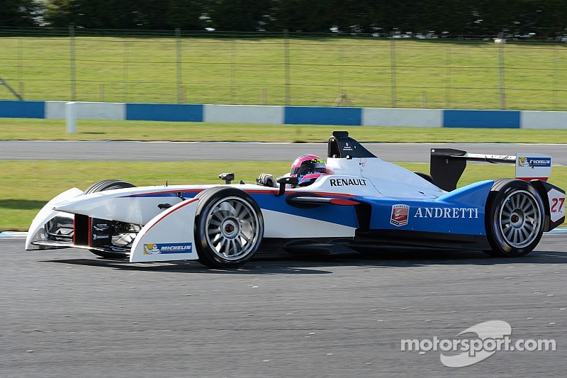 Andretti Autosport engineer Roger Griffiths high on Formula E