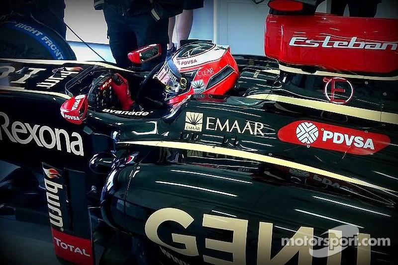 Esteban Ocon completes Lotus F1 test