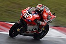Disappointment for Ducati Team at Sepang