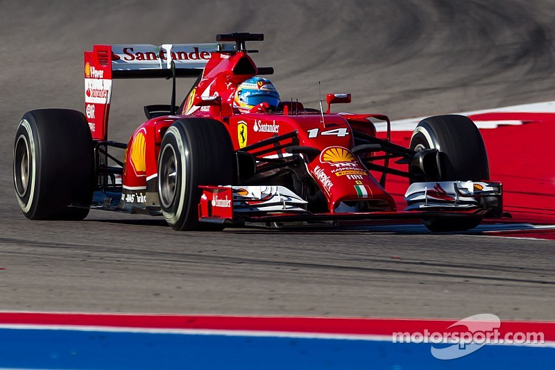 United States GP: Third and fourth row for Scuderia Ferrari