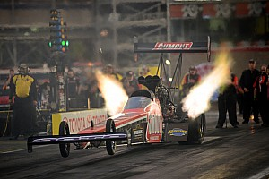 NHRA Race report Future star? Driver Leah Pritchett takes small team to Top Fuel finals