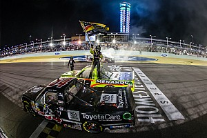 NASCAR Truck Race report Wallace wins the finale as Crafton is crowned champion