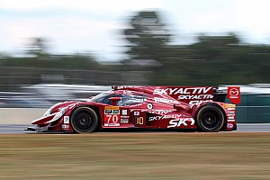 Bomarito turns first laps in Mazda Prototype