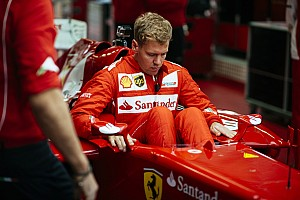 Vettel meets the bosses as he starts his introduction to Ferrari