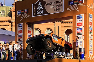 Dakar Preview Robb's Dakar ride: Scrutineering and start podium