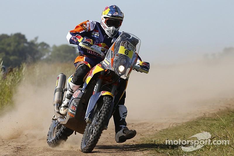KTM factory rider Sam Sunderland injured, out of Dakar
