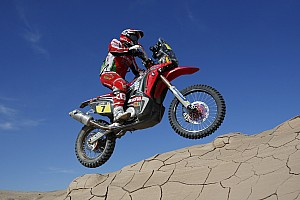 Dakar Stage report Gonçalves fights on