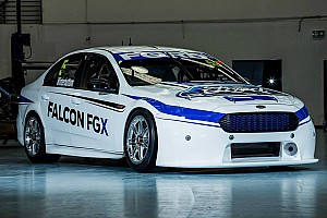 V8 Supercars Testing report Aero testing begins for V8SC manufacturers, Falcon gets a facelift