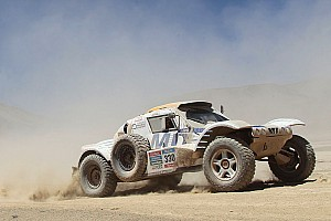 Big Dakar experience for Romain Dumas !