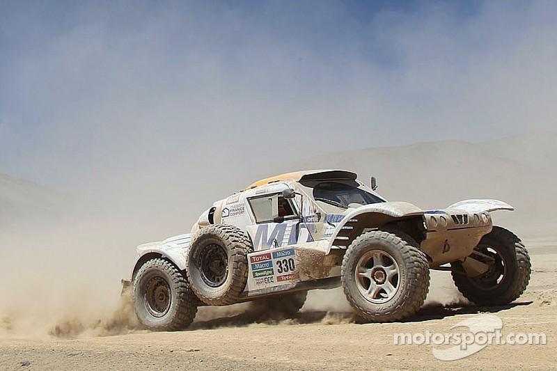 Big Dakar experience for Romain Dumas !